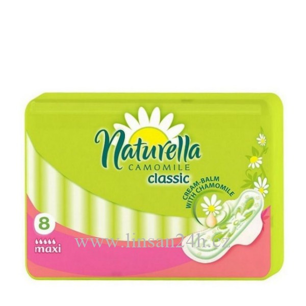 Naturella Vložky Classic - 8ks Maxi 6.