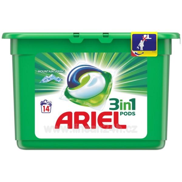 Ariel 14ks Gelové kapsle - Mountain Spring