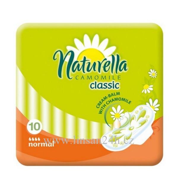 Naturella Vložky Classic - 10ks Normal 4.