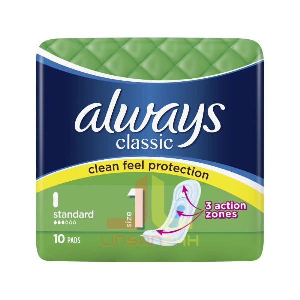 Always Vložky Classic - 10ks Standard 4.