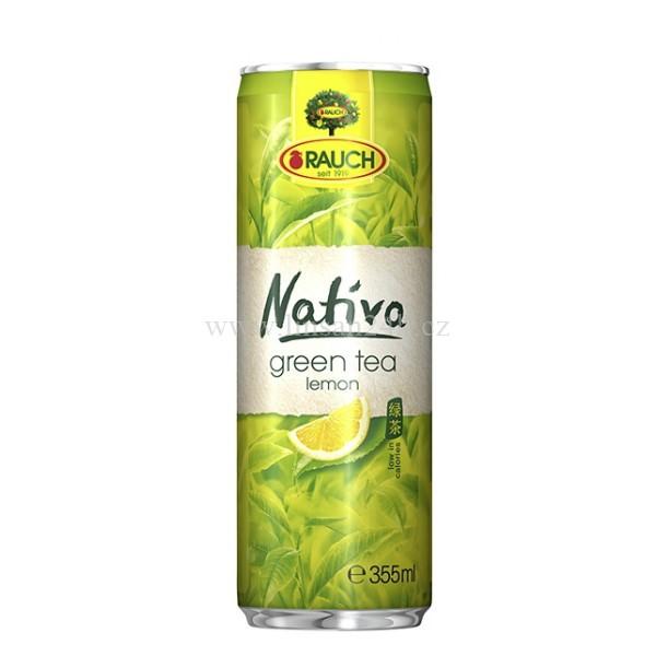 Rauch Plech 355ml Nativa - Green Tea Lemon