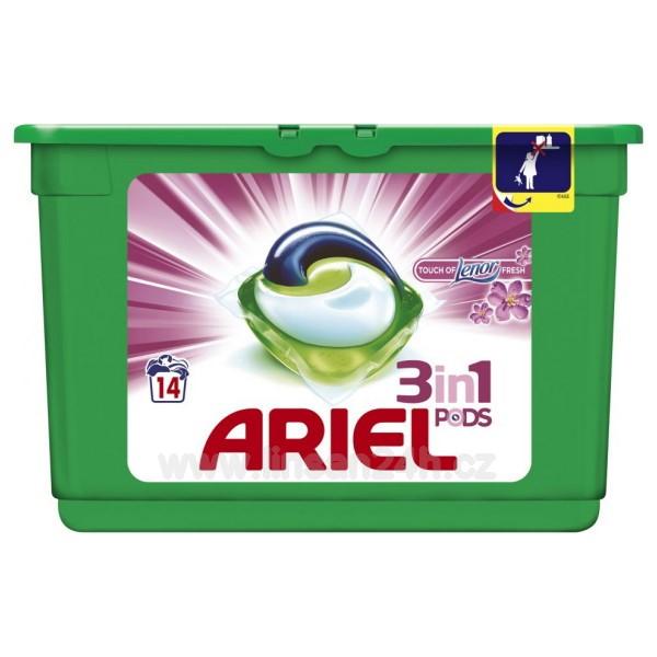 Ariel 14ks Gelové Kapsle - Touch of Lenor