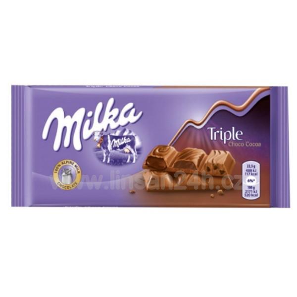 Milka coko. 90g Triple - Choco Cocoa
