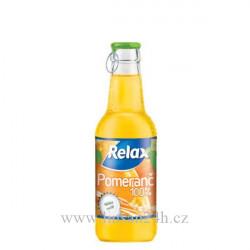 Relax 0.25l sklo 100% pomeranc