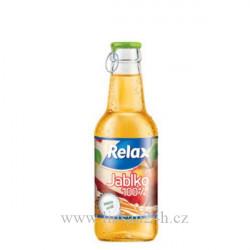 Relax 0,25l sklo 100% jablko