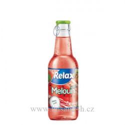 Relax 0,25l sklo meloun