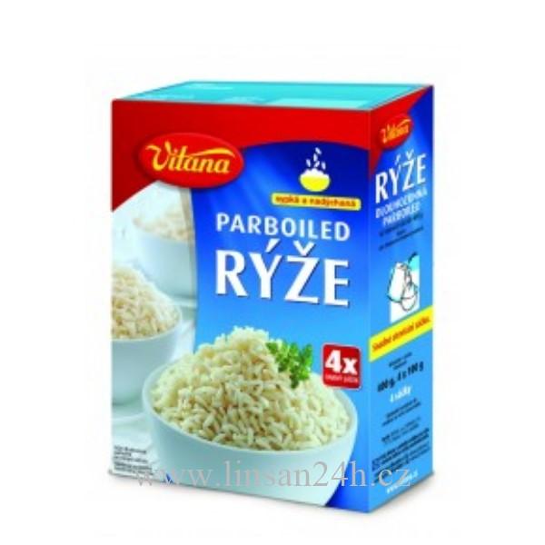 Rýže Vitana - 400g Parboiled ve Varných Sáccích