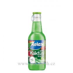 Relax 0,25l sklo Kaktus-Jablko-Limetka