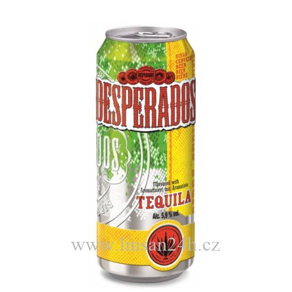 Desperados Plech 500ml Tequila
