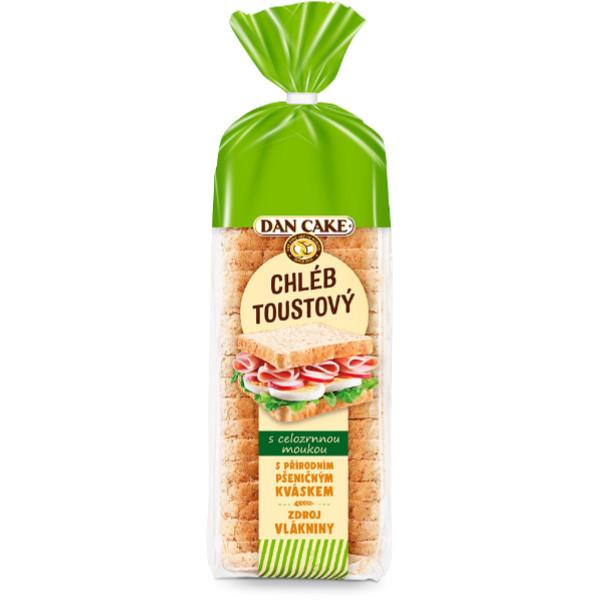 DanCake Toustový Chléb 500g Wholegrain (Celozrný)