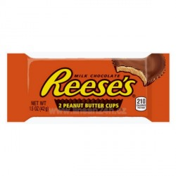 Reese's 2 Peanut Butter Cups 42g (1,5 OZ) 36ks*12b