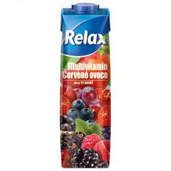 Relax 1L Multivitamin červené ovoce