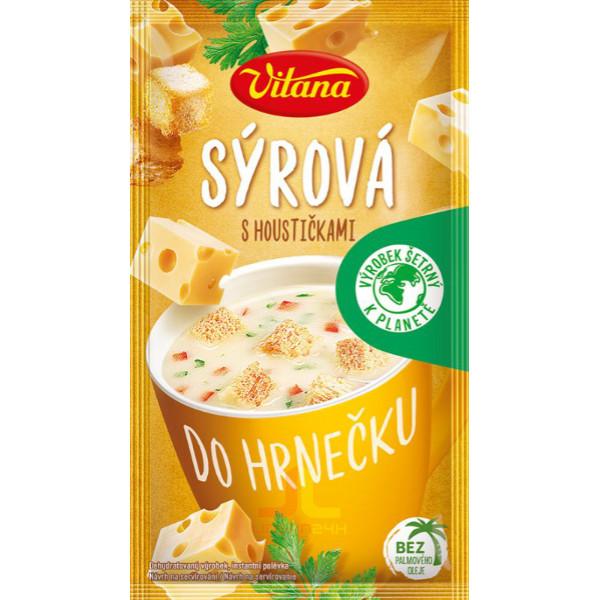 Vitana Polévka do hrnečku 22g Sýrová s houstičkami