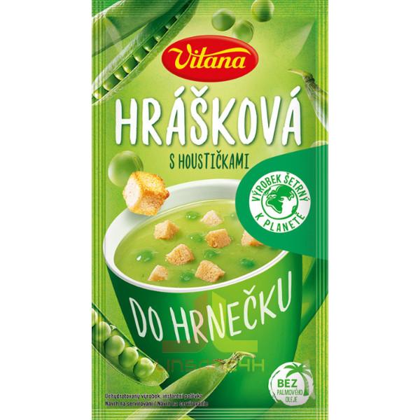 Vitana Polévka do hrnečku 27g Hrášková s houstičkami