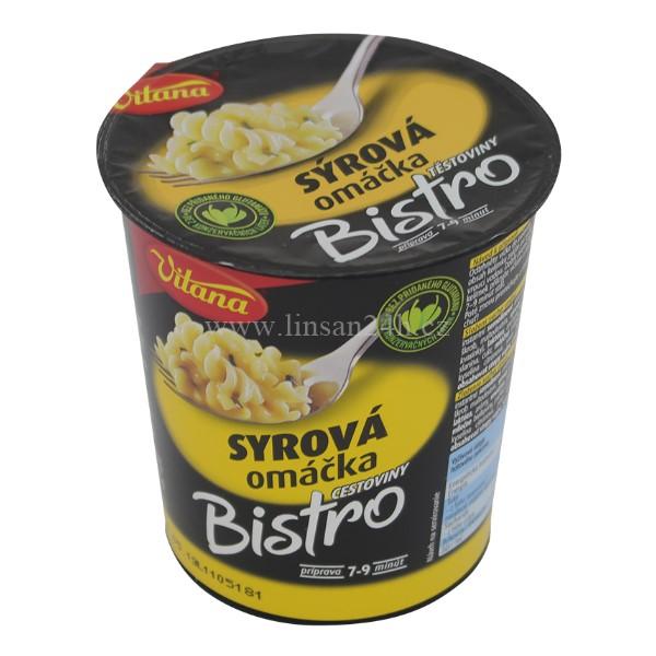 Vitana Bistro 72g Sýrová omáčka s těstoviny