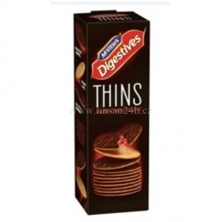 MC VITIE'S - Digestives Thins 180g Dark Choco