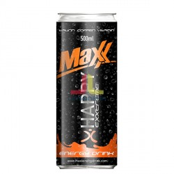 MAXX 500ml energy drink- PLECH (HAPPY)