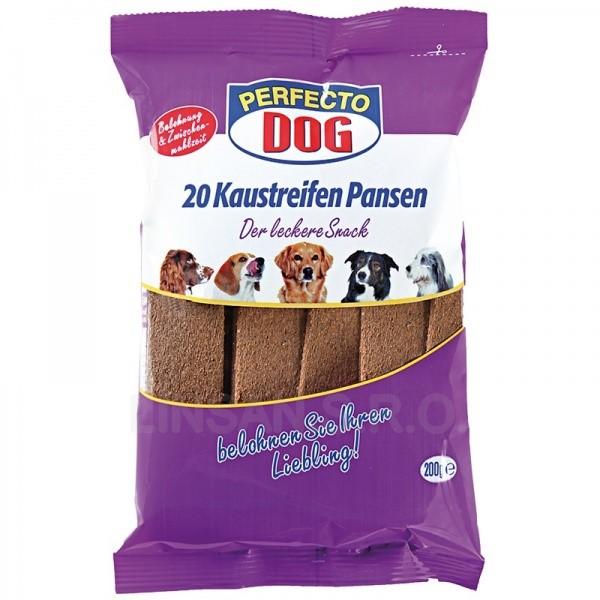 Perfecto Dog plátky hovězí s hovězím bachorem 200g