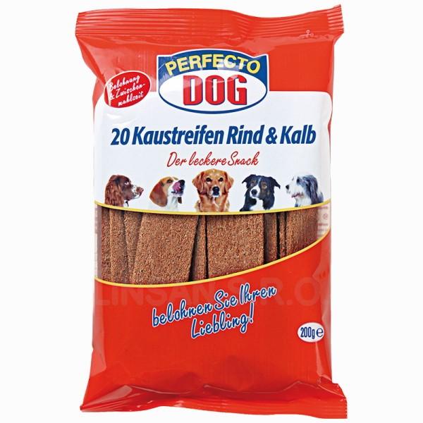 Perfecto Dog plátky hovezí + telecí 200g