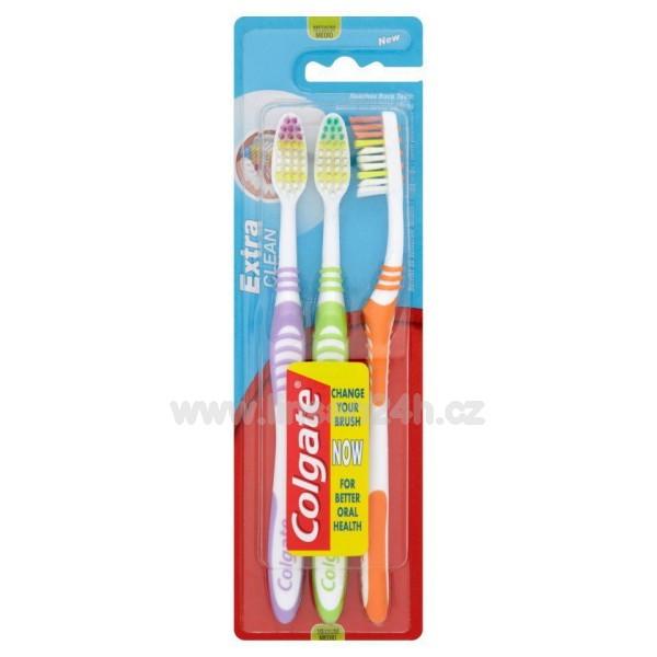 Zubní Kartacek - Colgate Extra Clean 2+1