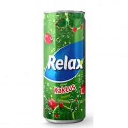 Relax CSD 330ml Kaktus
