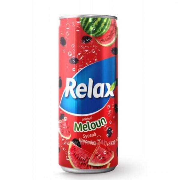 Relax CSD 330ml Meloun