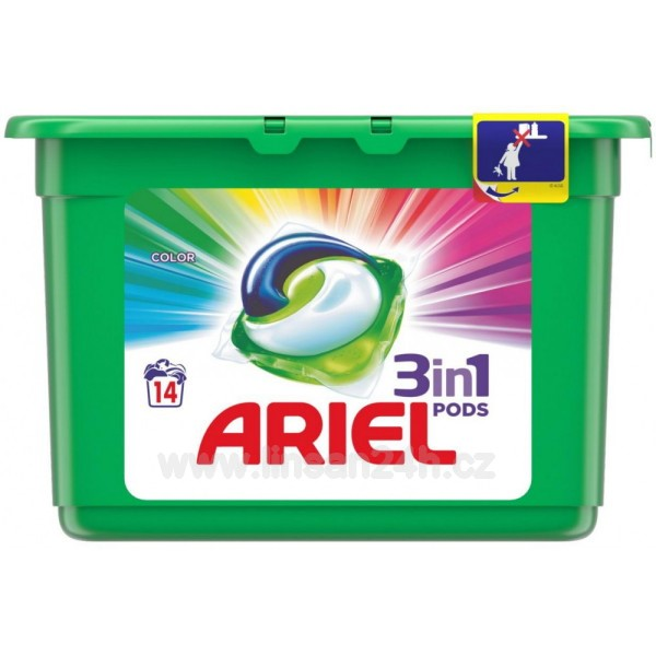 Ariel 14ks Gelové kapsle - Color